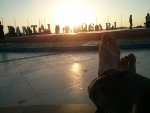 Waiting for sunset in Losari