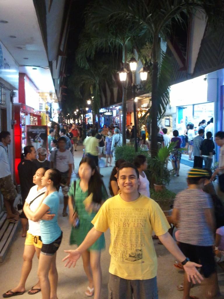 Boracay Night Market.